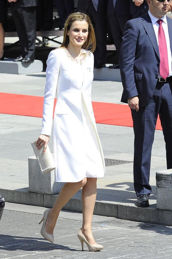 Letizia coronación