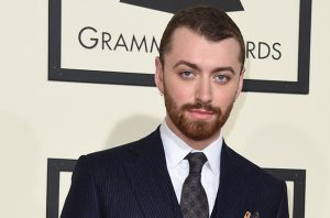 Singer Sam Smith arrives on the red carpet during the 58th Annual Grammy Music Awards in Los Angeles February 15, 2016. AFP PHOTO/ Valerie MACON / AFP / VALERIE MACON (Photo credit should read VALERIE MACON/AFP/Getty Images)