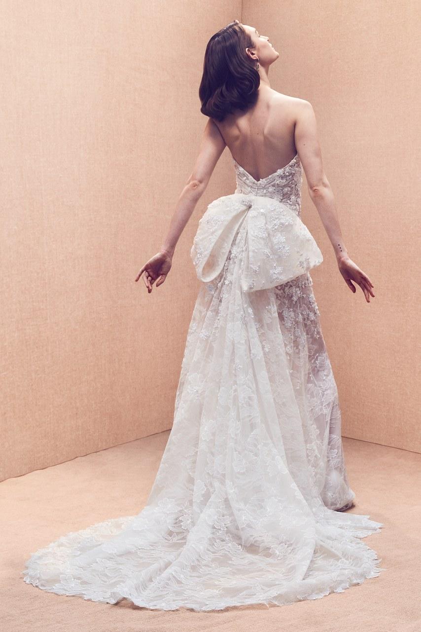 ecc0d3e2c La increíble colección de novias 2020 de Oscar de la Renta - Hoy ...