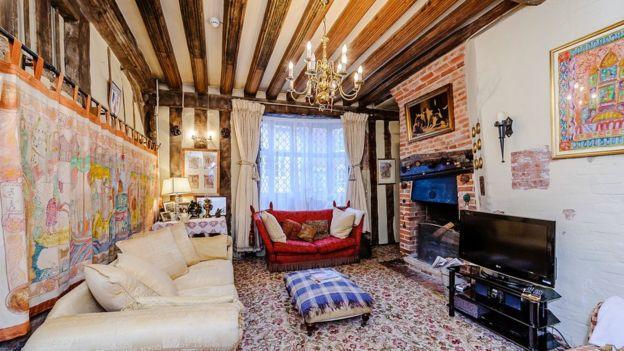 Interior DeVere House (fuente: BBC)